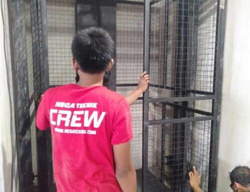 Lift Barang Kapasitas 2 Ton, 3 Lantai Pulau Serangan Bali