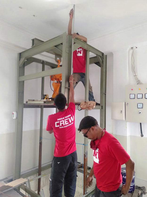 Lift Barang 2 Ton Varash Bali 6