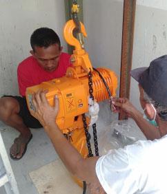 Mesin Lift Barang di Bali