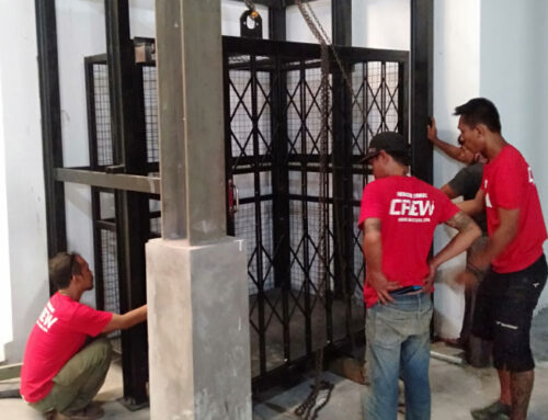 Lift Barang Kapasitas 2 Ton, 3 Lantai Bali Swim Denpasar